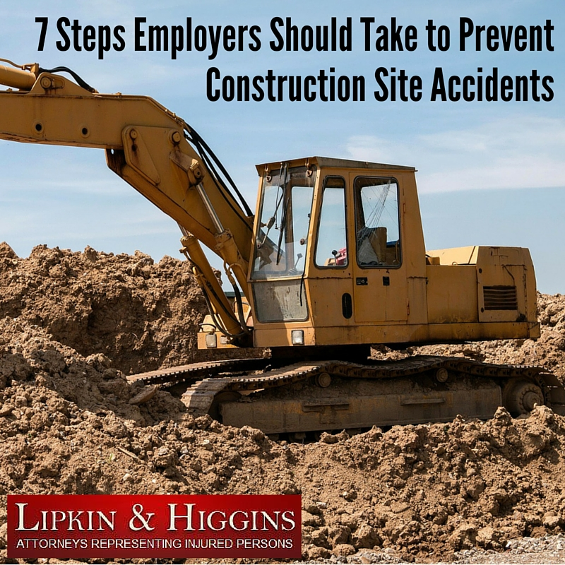 7 Steps Employers Should Take to Prevent Construction Site Accidents