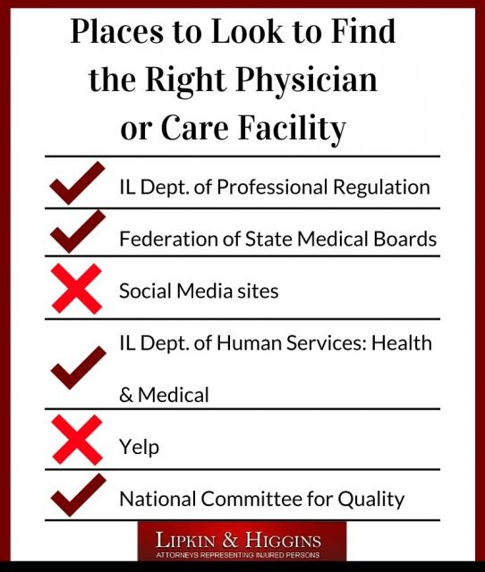 Tips for Finding the Right Physician or Care Facility